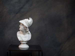 Pericles  Bust Sculpture // Trendy ancient Greece statue for Modern Home // Loft and Man cave perfect // Etsy dude  // Free Shipping