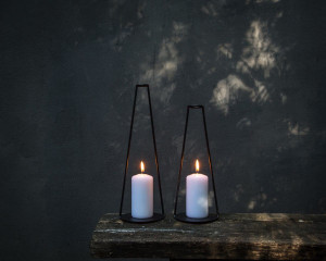 Wire Candle holders // Lanterns // Smoking Pipes // Minimalist Decor for modern home