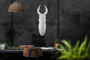 Faux Insect Taxidermy Beetle // Bug Wall Art // Urban jungle wall decor // Man cave perfect // FREE SHIPPING