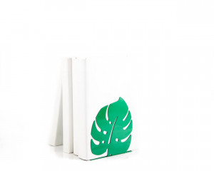 One metal bookend Monstera // Botanica series of bookends //anything meaningful to you //free shipping
