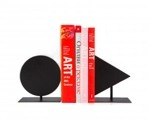 Modern Bookends Play // unique book holders for modern home // gift for a reading trendy decor lover // FREE  SHIPPING