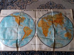 Vintage world map, Soviet world map, World map vintage poster, vintage wall decor, vintage home decor, vintage art, vintage travel decor art