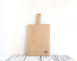 Large White Oak Cutting Board for a Country Style Kitchen // Handmade for a Modern Home Chef // Free Shipping Worldwide