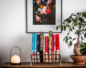 Minimalist book shelf // windowsill shelf // Display for coffee table books
