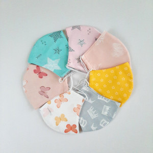 Set Face mask washable, Fabric mask for kids and adults, 2 layers cotton face masks, 3-4-5 Pack