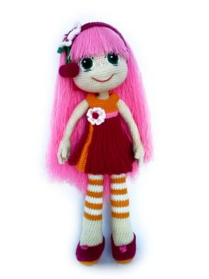 Crochet doll Knitted doll  Handmade doll Home decoration Crochet toy Interior doll Art doll hand OOAK Soft doll Love doll Stuffed animal
