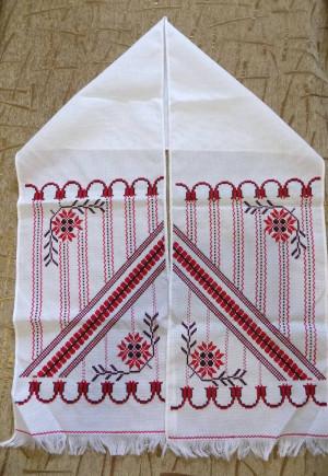 Cross stitch Nice RUSHNYK Hand embroidered wedding home church decor Towel from Ukraine