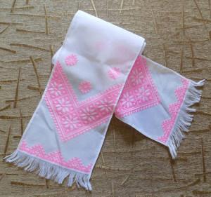 AMAZING Hand embroidery Ukrainian embroidery wedding towel RUSHNYK RUSHNIK