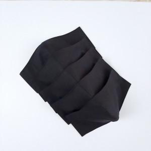 Black face mask washable, black lives matter, 2 layers cotton face masks for adults, 3-4-5 Pack