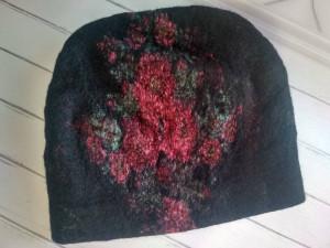 Women's wool hat, Wool felt hat, Merino wool hat