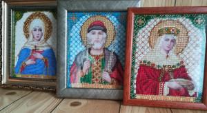 Saint icon, Name day gift, Personal icon, St Helena,  Birthday gift, Personalized icon