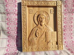 Our Lord Jesus Christ, Wooden Picture, God Almighty, gift to family and friends