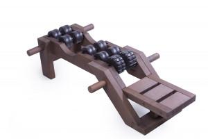 Tremass Fitness Club Spinal massager, Acupressure tools, Fitness machine.
