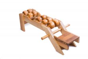 Tremass Fitness Club  (natural)  Spinal massager, Acupressure tools, Fitness machine.