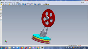 Low-Temperature Magnetic Coupled Stirling Engine drawings, assembly drawings, Physics Toys, stirling motor , science toys
