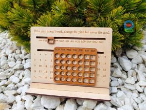 Perpetual calendar, desk calendar,  desk accessories, 2020 calendar, calendar 2020, family calendar, 2020 wall calendar, wall calendar