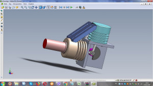 Stirling engine drawings, alpha type, assembly drawings, Physics Toys, stirling motor , science toys