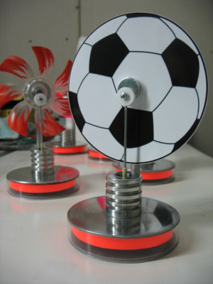 Low-temperature Stirling football souvenir model DS-mf, Stirling engine, Kit Education, Physics Toys, hot water stirling motor , science toy