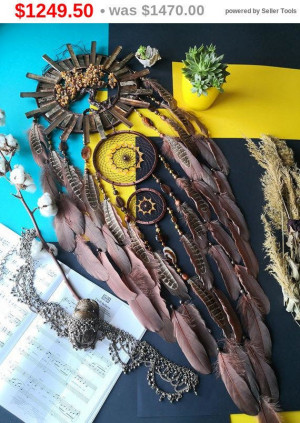big sale Large Brown Tree of life, brown Dreamcatcher, wall hanging,gemstone Dreamcatcher, Zodiac sign, boho decor, gift bohemian, decor ...