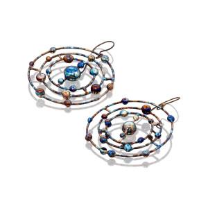 Titanium Hoop Earrings - Titanium Earrings - Titanium Hoops - Open Hoop Earrings - Witchy Jewelry