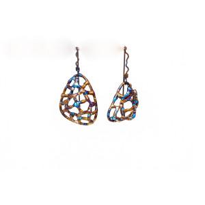 Witch Earrings - Celestial Earrings - Titanium Earrings - Cool Earrings - Witchy Jewelry - Quirky Earrings - Pagan Earrings