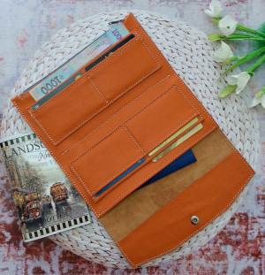 Passport wallet zipper, Passport wallet leather, Envelope wallet system, Personalized leather wallet, Credit card and coin wallet