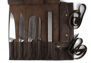 Leather knife roll,Tool roll,Knife roll,Chef knife roll,Knife case,Personalize knife bag,Chef knife bag,Knife bag chef gift custom name