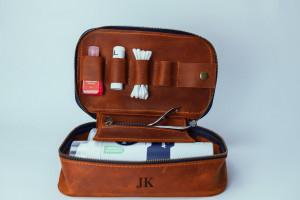 Dopp kit,Shaving kit personalized gift for man,Groomsmen dopp kit,Toiletry organizer,Mens toiletry bag,Groomsmen gift,Man gift