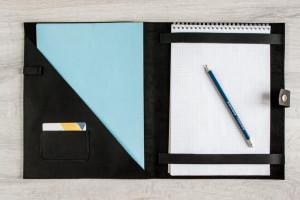 Custom portfolio,Leather portfolio,Leather portfolio women,Leather folder for documents,Leather document holder,Leather document,Office gift
