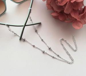 Crystal style | glasses chain, sunglasses chain, eyeglass string, eyeglass holder, face mask chain, face mask holder, gold glasses chain