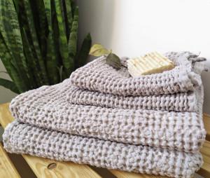 Linen waffle towels, bath towels, towels for face, organic towels, absorbent towels