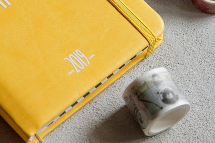 Notebook yellow