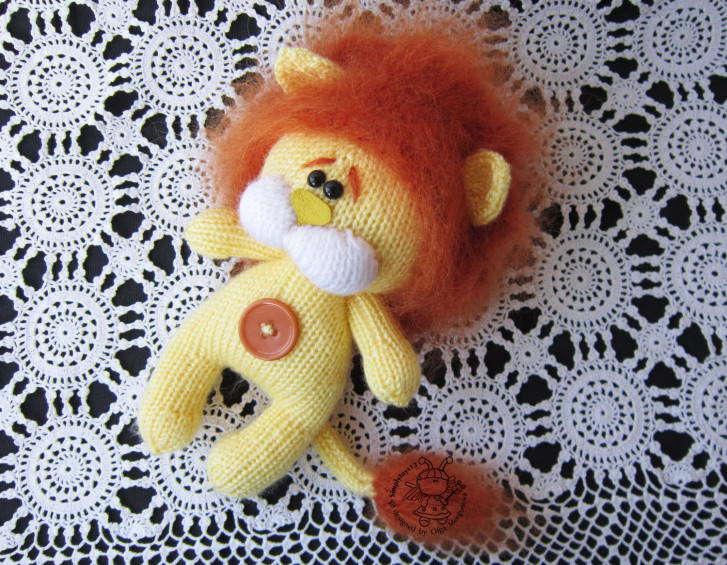 Little Lion Cub Lion for babies Amigurumi Lion Lion for child Baby gift Lion knitting toy Stuffed funny lion Shaggy lion toy Safari animal
